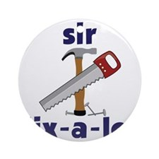 Sir Fix-A-Lot Round Ornament