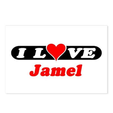 I Love Jamel Postcards (Package of 8)