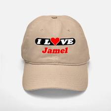 I Love Jamel Baseball Baseball Cap