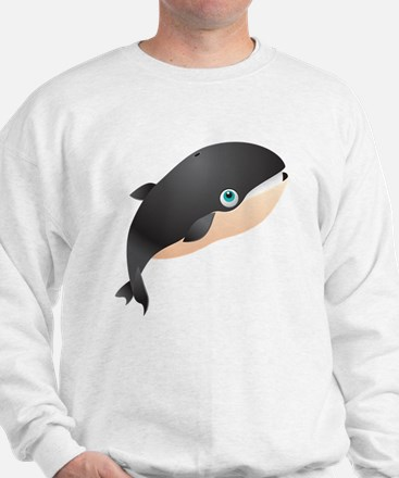 Giant Whale Kids Shirt Sweatshirt