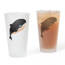 Giant Whale Kids Shirt Drinking Glass