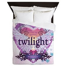 Twilight Breaking Dawn Winged Heart Queen Duvet