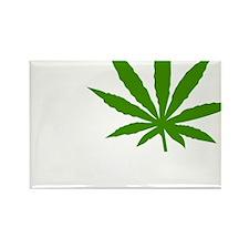 I Love Marijuana Rectangle Magnet