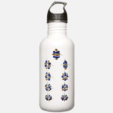 5g electron orbitals Water Bottle
