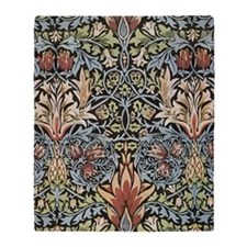 William Morris Design Throw Blanket