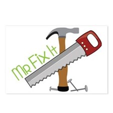 Mr Fix It Postcards (Package of 8)