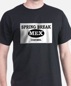 Spring Break Cozumel, Mexico T-Shirt