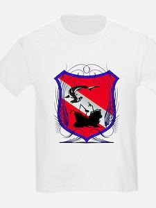 Hammerhead Wreck Shield T-Shirt