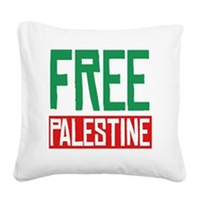 Free Palestine Square Canvas Pillow