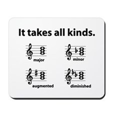 All Kinds Triads Mousepad