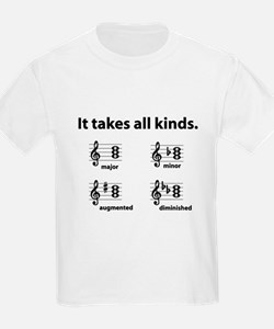 All Kinds Triads Kids T-Shirt
