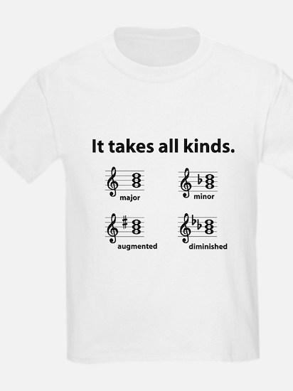 All Kinds Triads Kids T-Shirt