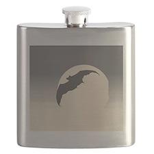 Bat Silhouette Flask