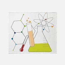 Chemistry Stuff Throw Blanket