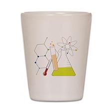 Chemistry Stuff Shot Glass