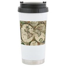 Vintage Map Travel Mug