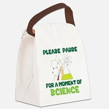 Please Pause Canvas Lunch Bag