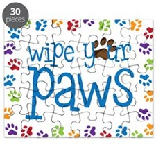 Wipe Your Paws Puzzle