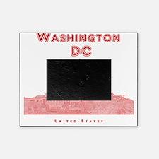 WashingtonDC_10x10_Skyline1_Red Picture Frame
