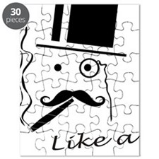 Moustache like a boss Puzzle