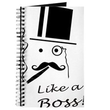 Moustache like a boss Journal