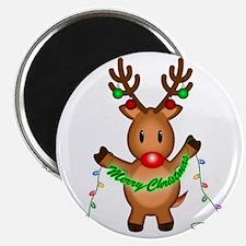 Merry Deer Magnet