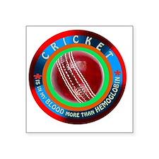 """Cricket Designs Square Sticker 3"""" x 3"""""""