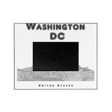 WashingtonDC_10x10_Skyline1_Black Picture Frame