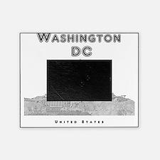 WashingtonDC_10x10_Skyline1_Black Picture Frame