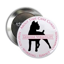 "About Time Cane Corso Logo 2.25"" Button"