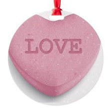 Candy Heart Ornament