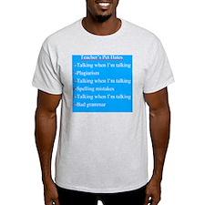 Pet Hates 1 BLUE T-Shirt
