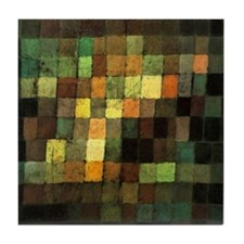 Paul Klee Ancient Sounds Tile Coaster