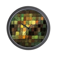 Paul Klee Ancient Sounds Wall Clock