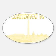 WashingtonDC_Rectangle_Yellow Sticker (Oval)