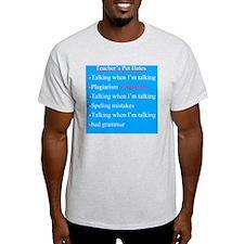 Pet Hates 2 BLUE T-Shirt