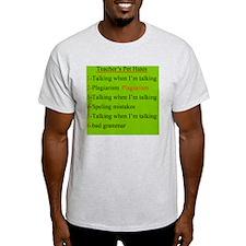 Pet Hates 2 GREEN T-Shirt