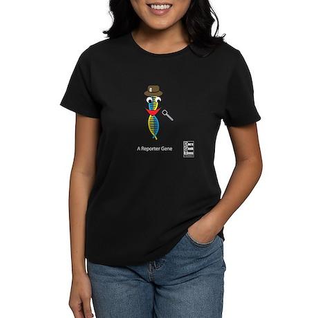 A Reporter Gene Women's Dark T-Shirt