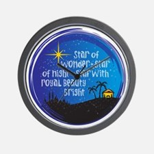 Star of Wonder Wall Clock