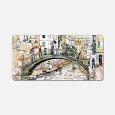 Maurice Prendergast Little  Aluminum License Plate