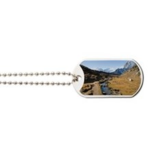 En route to Mount Everest base camp Dog Tags