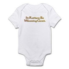 Rather Wearing Garb Infant Bodysuit