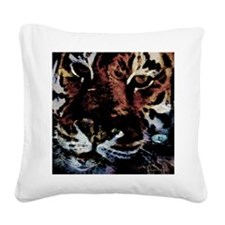 Cats Square Canvas Pillow