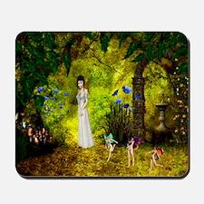 Visit to the Fairiy Garden Mousepad