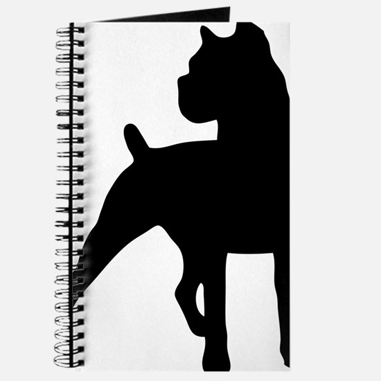 About Time Cane Corso Logo Journal