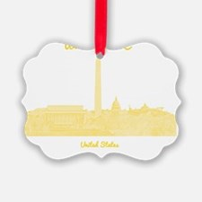 WashingtonDC_8In12_button_Yellow Ornament