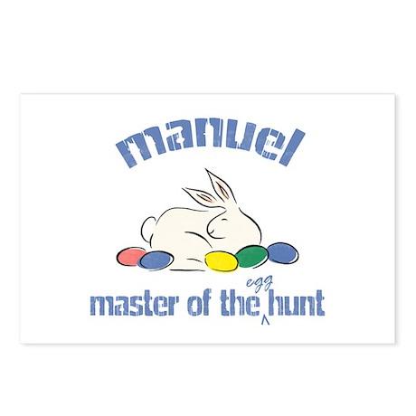 Easter Egg Hunt - Manuel Postcards (Package of 8)