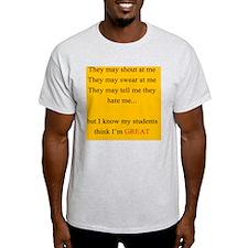 Im Great YELLOW T-Shirt