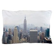 Empire State building and Manhattan Pillow Case