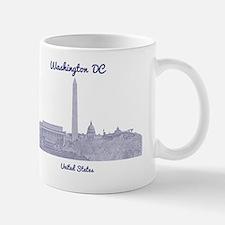 WashingtonDC_8In12_button_Blue Mug